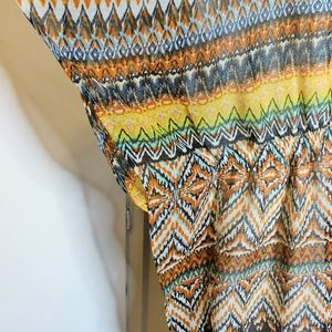Speed Control Dresses - Speed Control Tribal Muu Muu Dress Cover up 3X